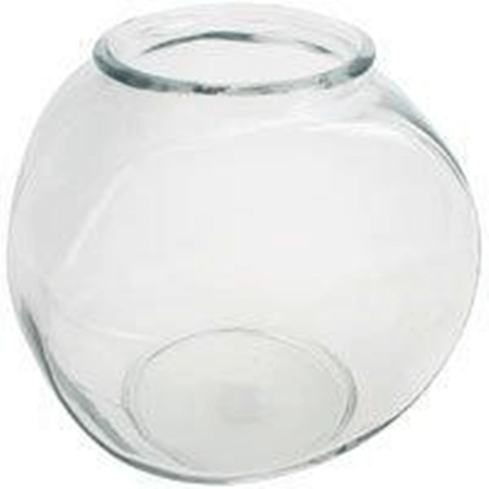 1 gallon glass fish bowls glass bowl displays candy jars for Glass fish bowl