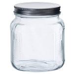 '1 Quart Cracker Jar w/Aluminum Lids - 4ct' from the web at 'http://www.candyconceptsinc.com/assets/images/1-quart-cracker-jar-with-aluminum-lids-1c_thumbnail.jpg'