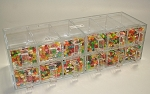 12 Drawer Plexi Display Case - 3ct