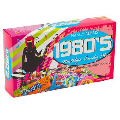 1980's Decade Candy Box - 6ct