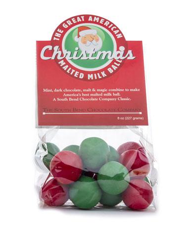 CHRISTMAS Malt Balls 8oz - 20ct