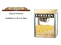 Premiere Popcorn Machine- 4 Ounce Kettle