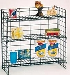 3 Shelf Wire Counter Rack