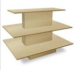Maple 3 Tiered Display Table