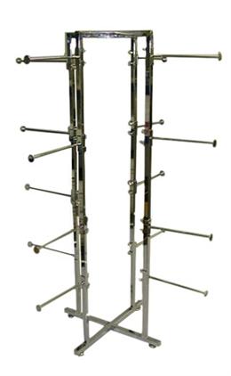 4-Way Round Folding LINGERIE Rack