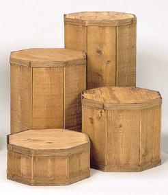 Round Wood Pedestal Set Round Pedestal Stained Wooden