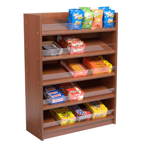 Wooden Candy Display Wood Candy Rack Display Stand