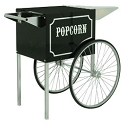 Cart for the 1911 8oz Black and Chrome Popcorn Machine