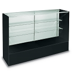 70 Inch Full Vision Display Case - Color Choice