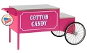 Cotton Candy Wheeled Cart