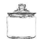 '96 oz Heritage Hill Jar w/ Lid - 2ct' from the web at 'http://www.candyconceptsinc.com/assets/images/96-ounce-heritage-hill-har-with-lid-1b_thumbnail.jpg'