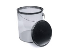 Extra Large Paint Can With Lid Plastic Container Party