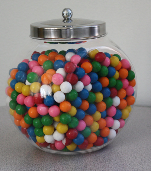 Candy Jar: Acrylic Penny Candy Jars