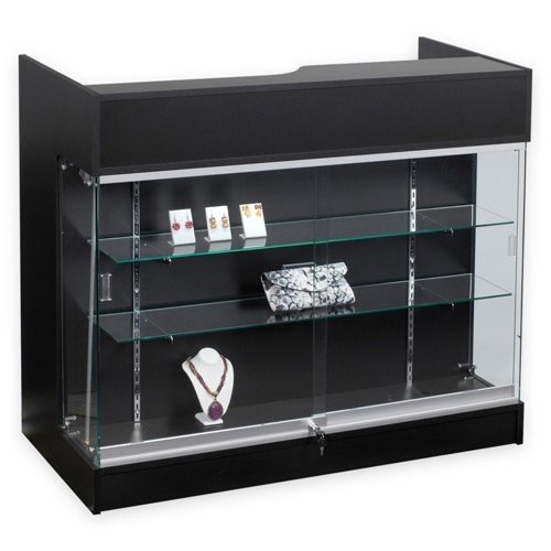 Ledgetop Counter With Showcase Counters Retail Showcase