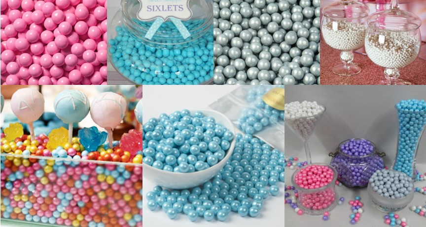 Colored Sixlets For All Occasions