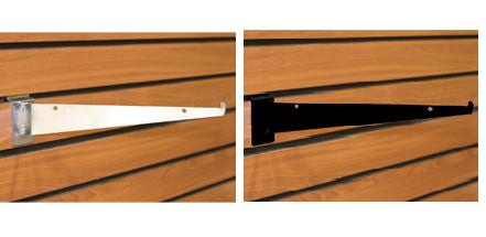 Slatwall Shelf Bracket - 12in - 2ct