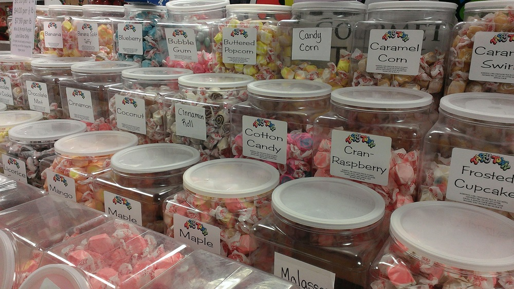 Plastic Containers and Plastic Candy Bins