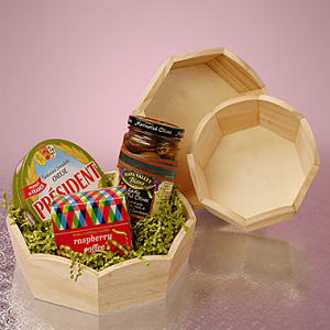 Wood Favor Containers