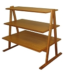 A-Frame Tri-Level Veneer Display