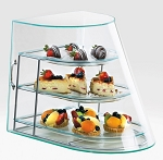 Acrylic Attendant Serve Bakery Case