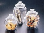 40 oz Small Acrylic Candy Jars - 16ct