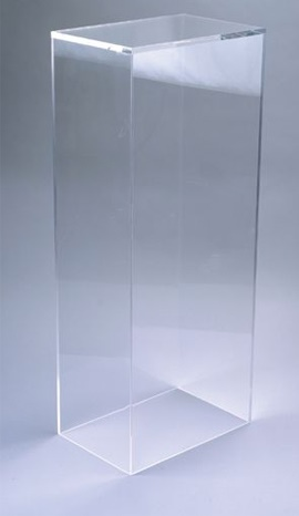 Clear Acrylic Pedestal | Merchandising Display