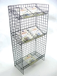 All Purpose 3 Level Wire Shelf Unit