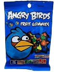 Angry Birds Blue Bird Gummies Peg Bag -12ct