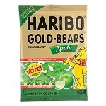 Apple Gummy Bears Peg Bag - 12ct