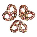Assorted Sprinkle Pretzels - 3lbs