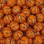 Foil Wrapped Basketballs - 10lbs