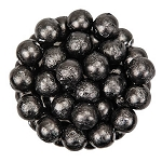 Black Foil Chocolate Balls - 10lbs