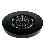 Black Round 80 LED Vase Light Base - 10
