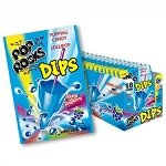 Pop Rocks Dips Blue Raspberry - 18ct