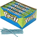 Blue Raspberry Sour Punch Straws - 24ct