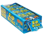 Blue Raspberry Sour Rip Rolls - 24ct