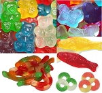 Gummi Candy Package - 76lbs