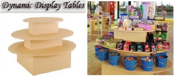 Candy Display Table- Candy Concepts Inc