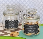 Chalkboard Baby Mini Glass Cookie Jars - 24ct