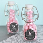 Chalkboard Baby Mini Glass Bottles - 24ct