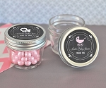 Chalkboard Baby Small Glass Mason Jars - 24ct