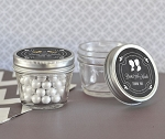 Chalkboard Wedding Small Glass Mason Jars - 24ct