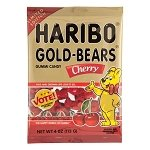 Cherry Gummy Bears Peg Bag - 12ct