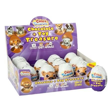 Choco Treasure BABY Animals - 12ct