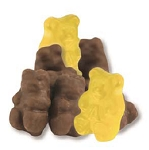 Chocolate Covered Banana Gummi Bears - 9lbs