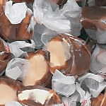 Chocolate Malt Salt Water Taffy - 20lbs