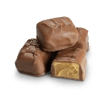 Milk Chocolate Peanut Butter Meltaways - 10lbs