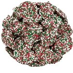 Christmas Chocolate Nonpareils - 6lb