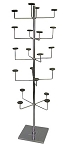 Chrome 5 Tier Hat Rack