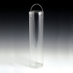 Clear Tube with Handles  - 12 inch - 60ct
